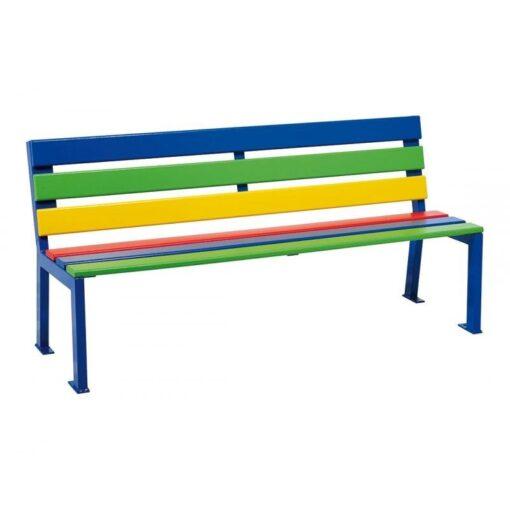 Banc Silaos junior multicolore version primaire