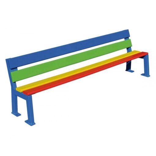 Banc Silaos junior multicolore version maternelle
