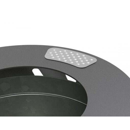 Grille ecrase mégots pour corbeille Procity