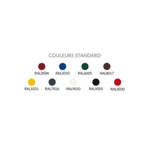 Nuancier du couleurs standard