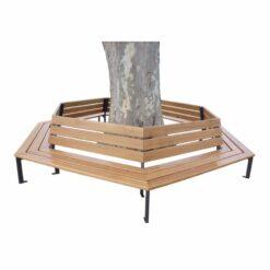 Banc tour d'arbre Silaos