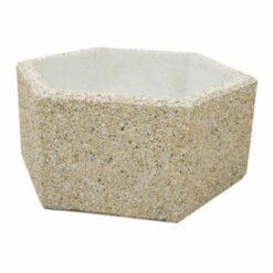 Jardinière Basic hexagonale