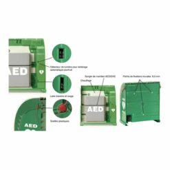 Boitier intérieur avec alarme AIVIA 100