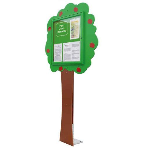 Vitrine arbre d'information 6 A4