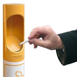 Potelet cigarette - zoom