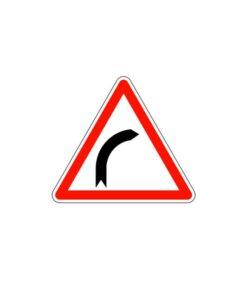 Panneau de police de signalisation de danger de type A