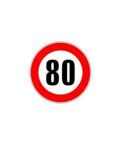 Panneau de signalisation d'interdiction de type B