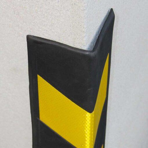 Protection d'angle en mousse EVA droit en situation