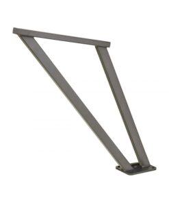 Appui cycles Venise acier design Gris Procity mobilier rurbain sur platine