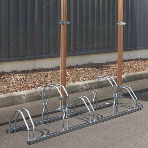 Support cycles éco à emplacements décalés