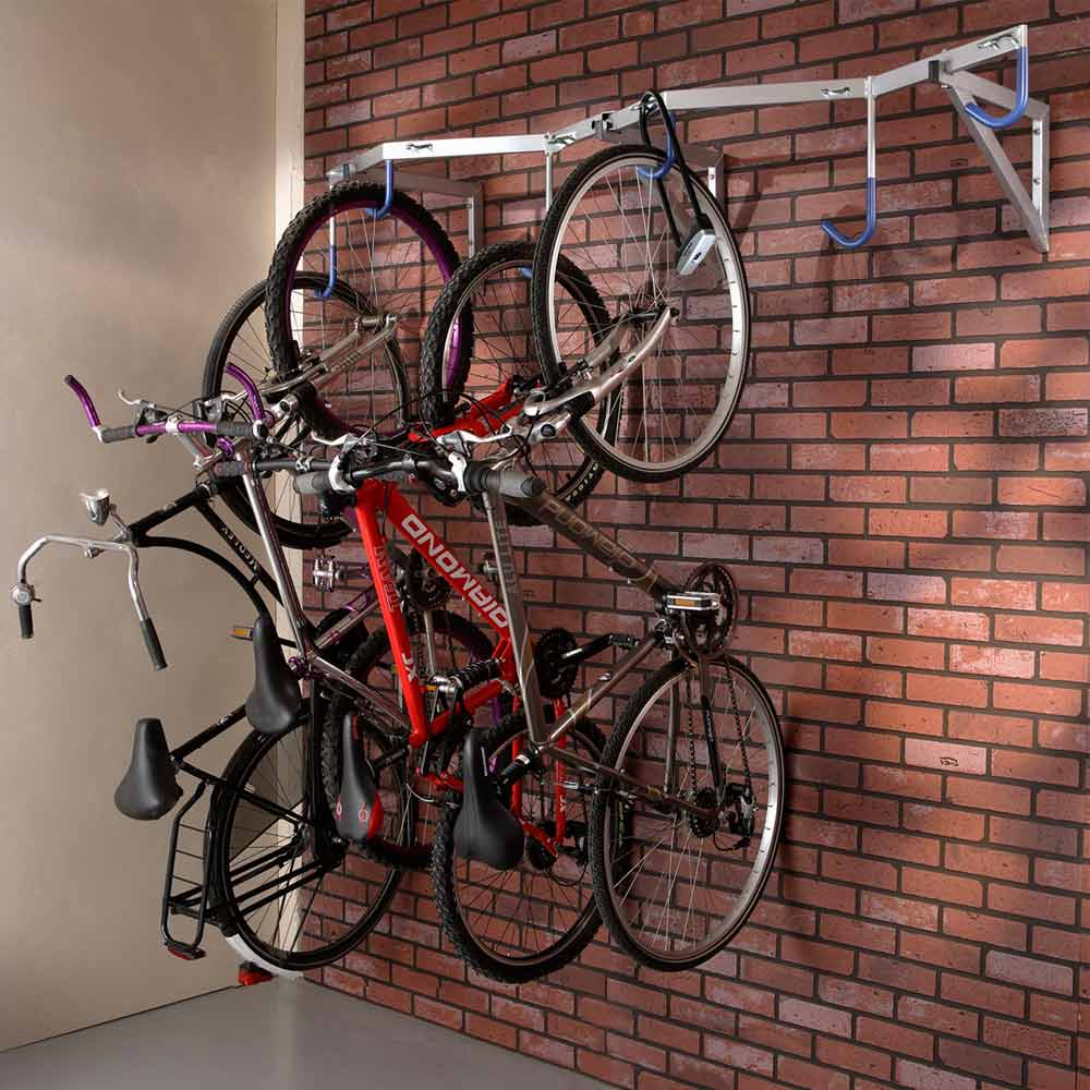 Porte vélos suspendu