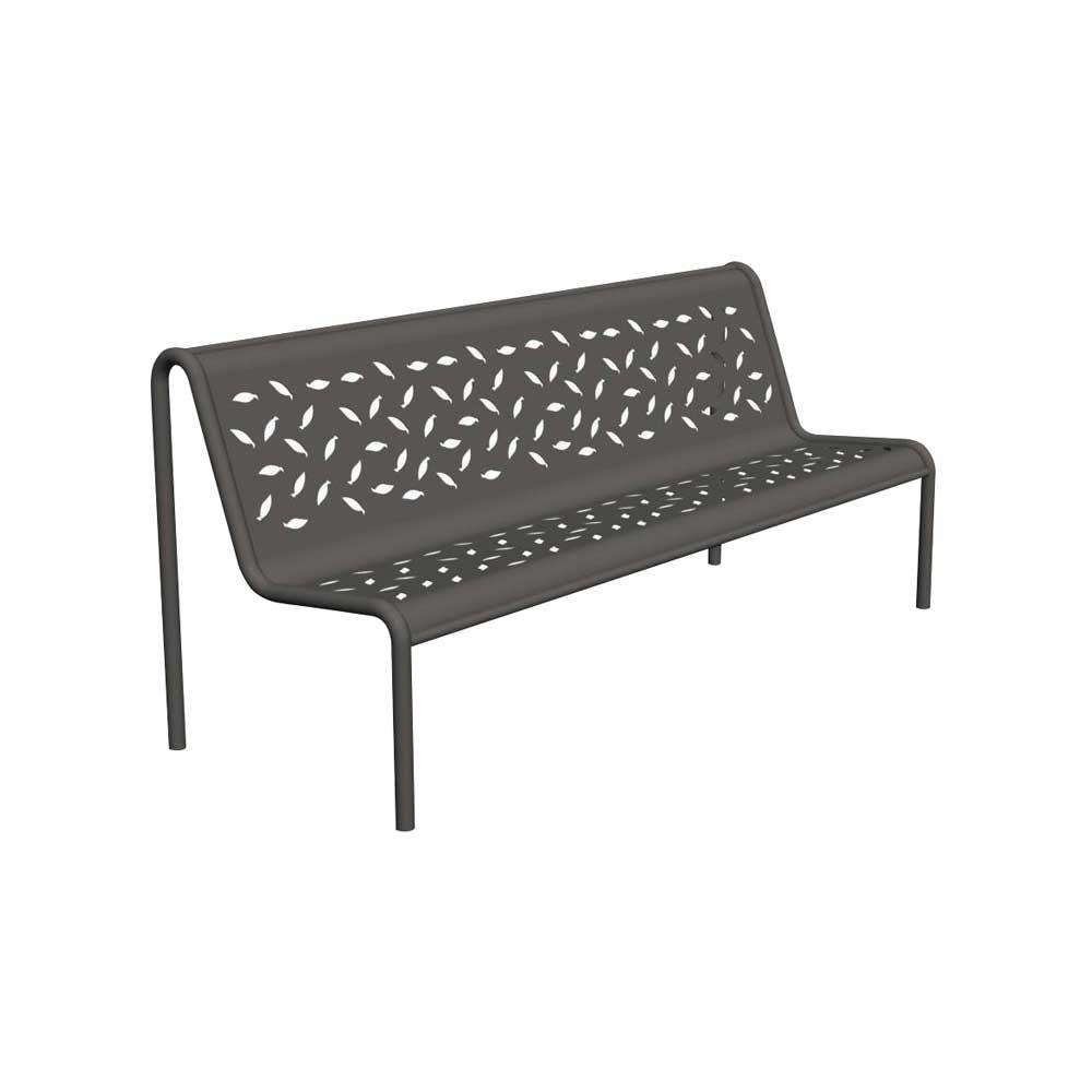 banc for t en acier robuste et au design moderne. Black Bedroom Furniture Sets. Home Design Ideas