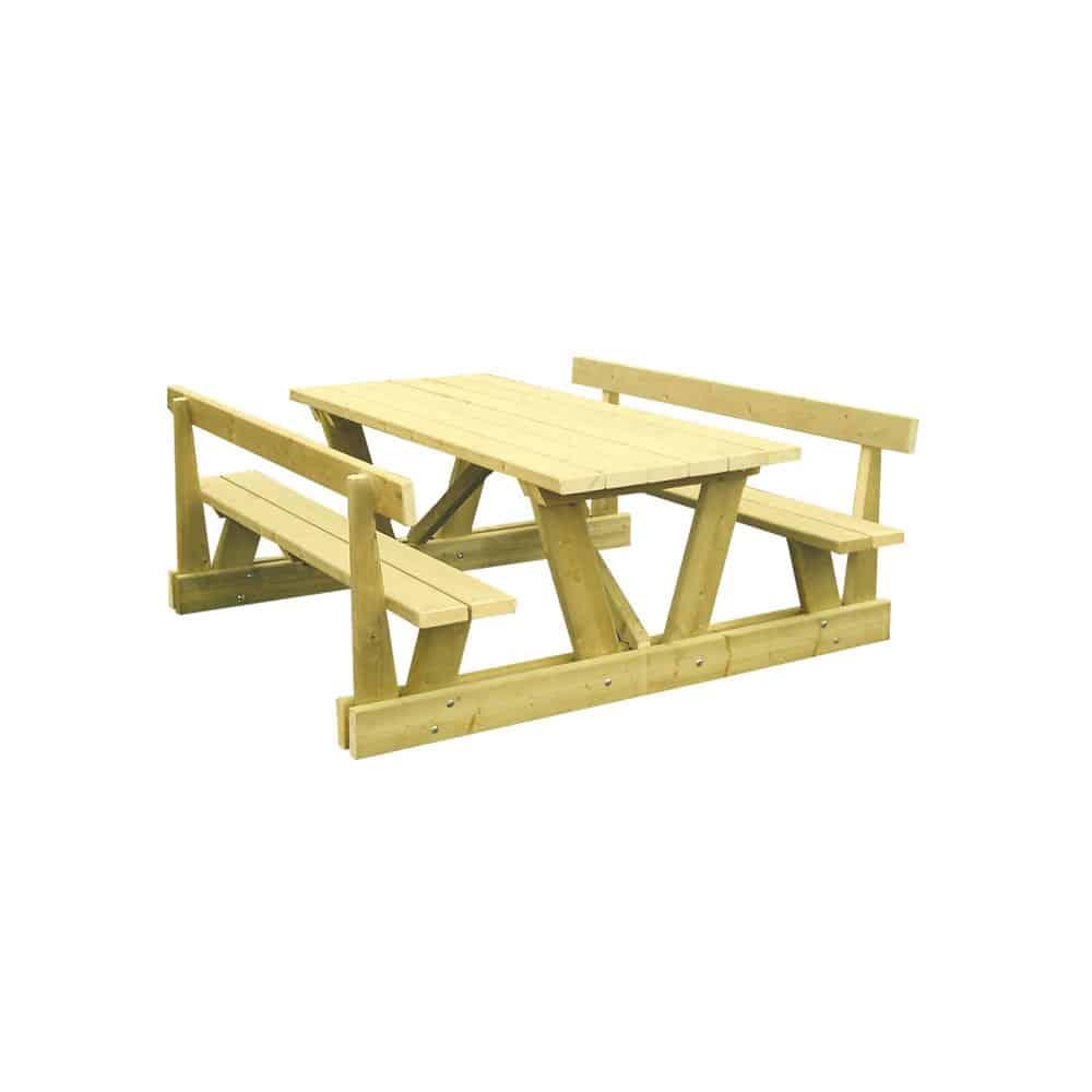 table de pique nique gramat adzeo mobilier urbain. Black Bedroom Furniture Sets. Home Design Ideas