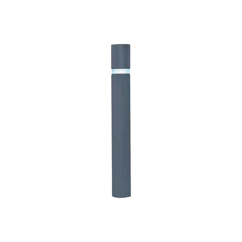 Potelet à mémoire de forme gris RAL 7024