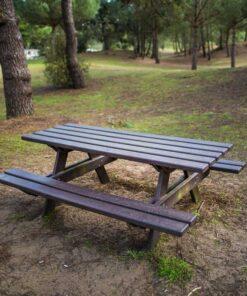 Table Monflanquin plastique