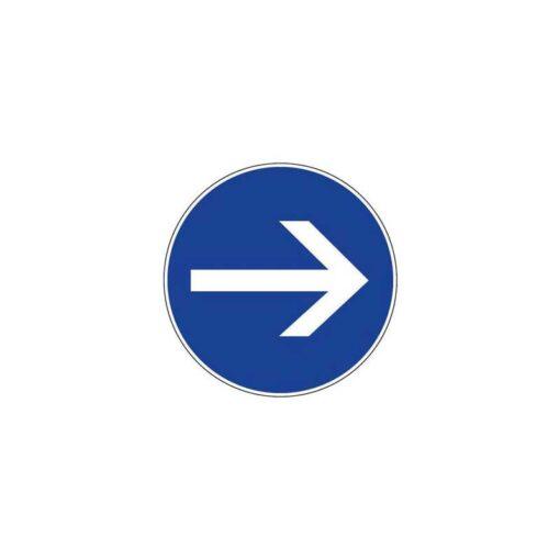Panneau de police d'obligation et de stationnement de type B