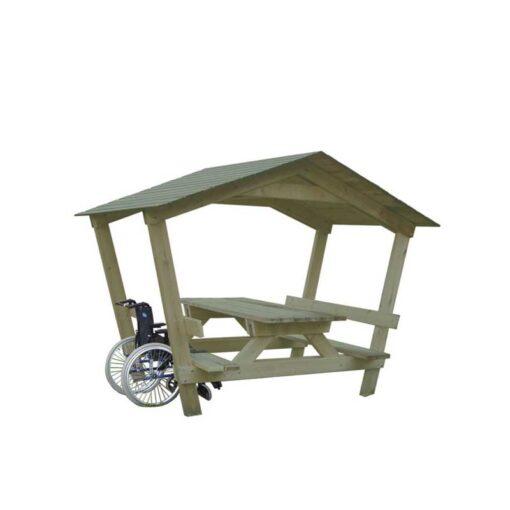Table Lontau avec toit