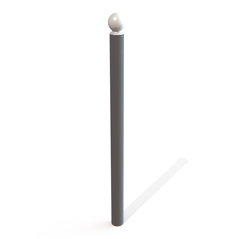 Potelet boule PMR diamètre 76 mm