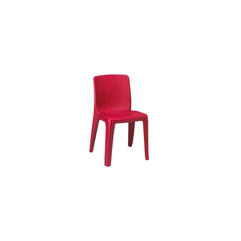 Collectivité chaise empilable