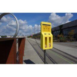 Cendrier sondage Premium jaune