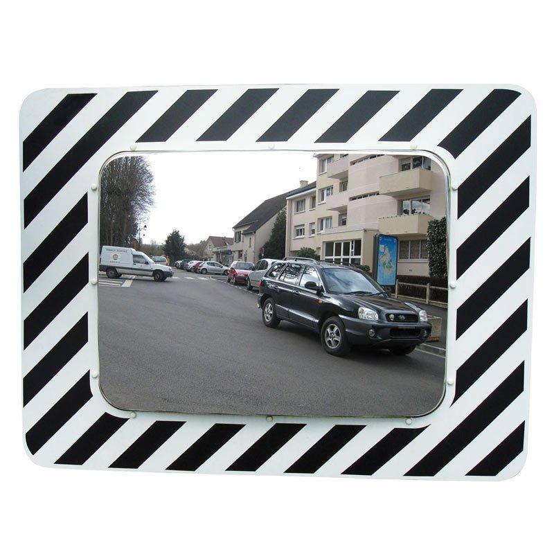 miroir routier rectangulaire Inox