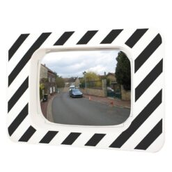 Miroir routier rectangulaire