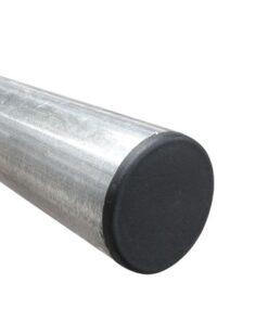 Poteau galvanisé diamètre 60 mm