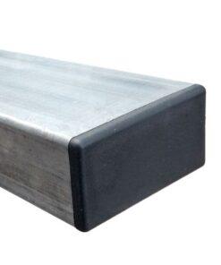 Poteau galvanisé 80 x 40 mm