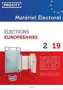 Brochure Procity Matériel Electoral