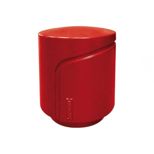 Borne Conviviale Procity mobilier urbain design RAL 3004 rouge pourpre