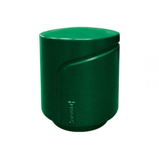 Borne Conviviale Procity mobilier urbain design RAL 6005 Vert mousse