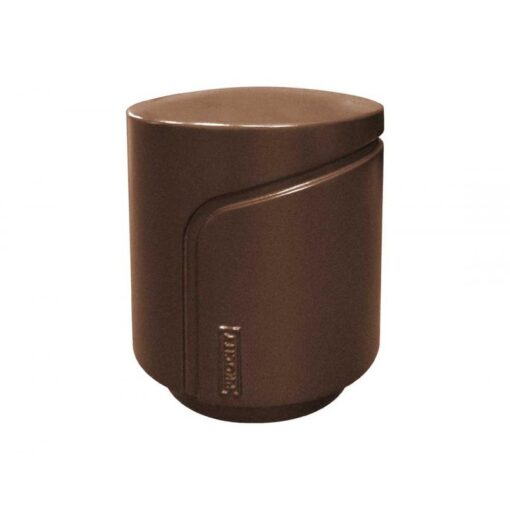 Borne Conviviale Procity mobilier urbain design RAL 8017 Brun chocolat