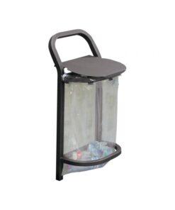 Corbeille Conviviale Vigipirate 50 litres acier mobilier urbain Procity Gris Procity