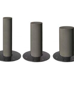 Bornes barcelone rectraclables Procity gris mobilier urbain