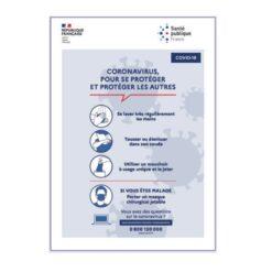 Adhesif-autocollant-PVC-message-mesures-sanitaires-directives-gouvernementales-officielles-de-sécurité-coronavirus-COVID-19