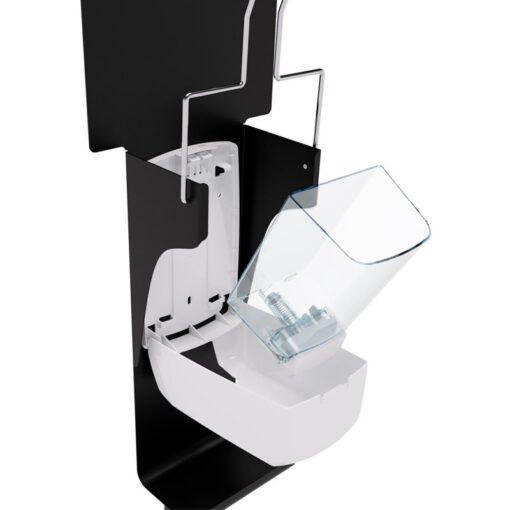 Distributeur de gel hydroalcoolique sanimains