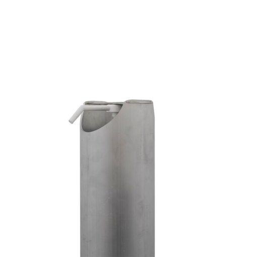 Borne distributeur de gel hydroalcoolique ilona pro sur pied sans contact premier prix tete