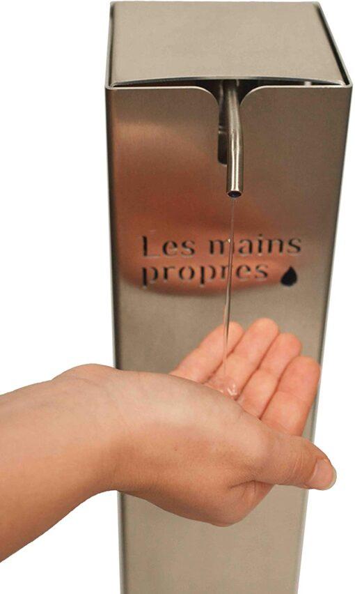 Distributeur mains propres en situation