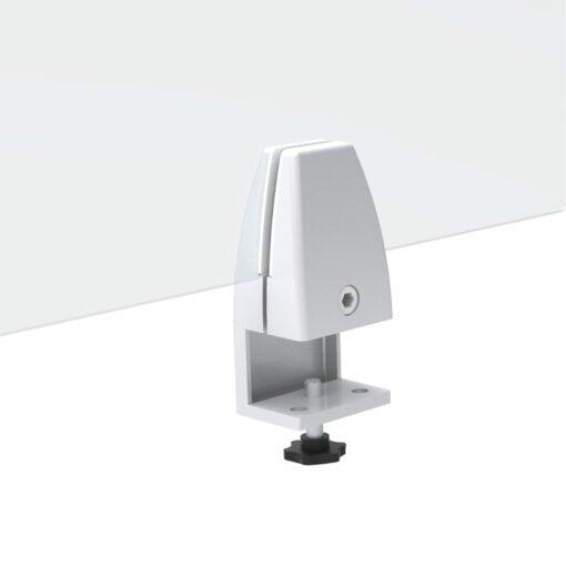 Cloisons separatrices de bureaux séparateur de bureau transparent en plexiglas patte de fixation a visser