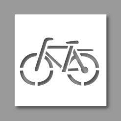 Pochoir Vélo